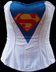 I think I found my superhero costume! :)