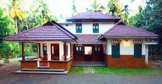തൃശൂർ-മലപ്പുറം ജില്ലകളുടെ അതിർത്തിയായ പെരുമ്പടപ്പ് എന്ന ഗ്രാമത്തിലാണ് കേരളത്തനിമയുടെ നന്മകൾ ആവാഹിക്കുന്ന ഈ വീട് നിലകൊള്ളുന്നത്. Village House Design, Kerala House Design, Village Houses, Kerala Traditional House, Traditional House Plans, Traditional Homes, Modern Traditional, Chettinad House, House Construction Plan