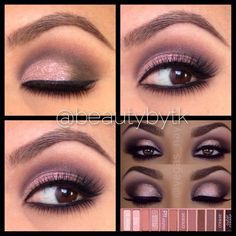 Urban Decay Naked 3 palette tutorial