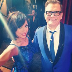 Cheryl Burke: Drew Carey and I, ready to get our jive on! #DWTS