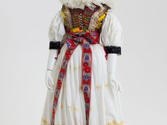 Folk Costume, Costumes, Lace Silk, Traditional Dresses, Hana, Cotton, Embroidery, Clothes, Collection