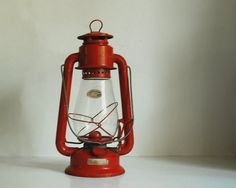 camp lantern-I have one of these hanging in the kitchen window at home. I love lanterns..