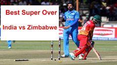 Super Over of India vs Zimbabwe 3rd t20