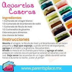 Acuarelas caserad Diy For Kids, Crafts For Kids, Fun Crafts, Diy And Crafts, Party Deco, Barbie, Craft Activities, Kids Learning, Crafty
