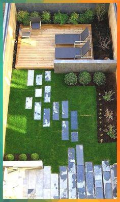 Garten-Design-Ideen-Vogelperspektive-Hinterhof-Garten-Lounge-Rasen-Pflaster Garten-Design-Ideen-Vogelperspektive-Hinterhof-Garten-Lounge-Rasen-Pflaster For other models, you can visit the category. For more ideas, please visit … Backyard Patio Designs, Small Backyard Landscaping, Modern Landscaping, Backyard Ideas, Landscaping Ideas, Garden Ideas, Small Patio, Landscaping Borders, Patio Ideas