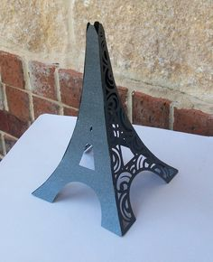 3D Eiffel Tower Table Centerpiece