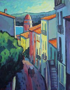 Collioure y el fauvismo | Guillermo Martí Ceballos Pintor Fauvista y Expresionista