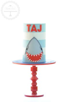 For a little boy who wanted to celebrate his birthday with a shark cake.