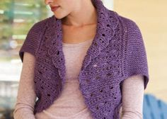 Free Knitting Patterns For Lace Shrugs : 1000+ images about knitting on Pinterest Pattern Library, Free Knitting and...
