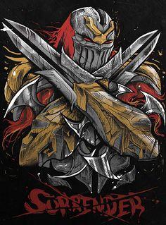 ZED by: Marcel Amorim League of legends ninja