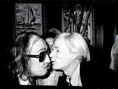 Dalí and Warhol