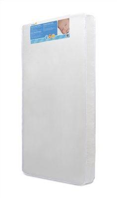 Dream Plenty Baby Bed Crib Hypoallergenic Mattress Waterproof Clean Easily White #CribMattress