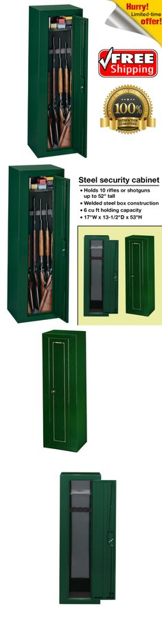 Cabinets And Safes 177877: Stack On 10 Gun Security Cabinet Firearms  Shotgun Rifle Safe Steel Storage  U003e BUY IT NOW ONLY: $113.17 On EBay!