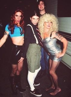 Dave, Krist, Anthony and Flea. Wow, they were all so young