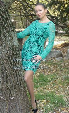 Crochet Wedding Dress Pattern, Crochet Wedding Dresses, Wedding Dress Patterns, Crochet Dresses, Garage Art, Dresses With Sleeves, Long Sleeve, Fashion, Gorgeous Dress