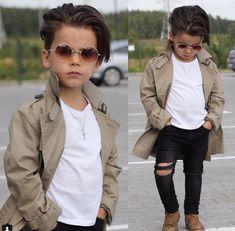 Hipster Haircut For Men Fashion Kids, Toddler Boy Fashion, Little Boy Fashion, Toddler Boy Outfits, Girl Fashion, Funny Fashion, Spring Fashion, Hipster Haircut, Toddler Boy Haircuts