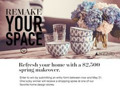 Win a $2500 home makeover (05/31/2016) via... IFTTT reddit giveaways freebies contests