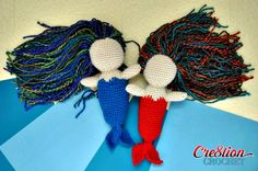 Mermaid Ami free pattern by Cre8tion Crochet