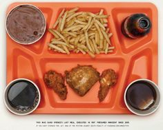 Last meals of innocent people sentenced to death. This is why I'm against capital punishment