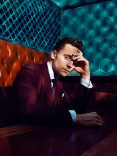 Tom Hiddleston in GQ 2013.