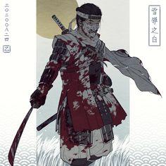 Ninja Wallpaper, Samurai Wallpaper, Eagle Wallpaper, All Out Anime, Anime Guys, Character Art, Character Design, Samurai Weapons, Samurai Artwork