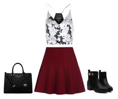 """""""Untitled #41"""" by ayechic on Polyvore featuring Topshop, MICHAEL Michael Kors and fallstyle"""