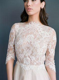 Lace Bridal Top