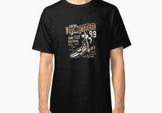 Wave Conqueror - Wave Rider Club Vintage Surfer Surfing #beachgifts #beach #gifts #gift Ideas