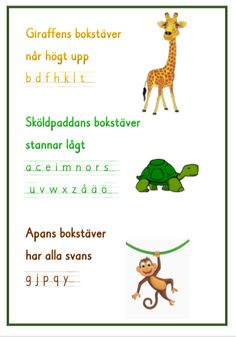 Forma bokstäver - med eller utan hjälplinjer Teacher Education, School Teacher, Alphabet Activities, Classroom Activities, Learn Swedish, Swedish Language, Learning Support, Kids Writing, Teaching Materials