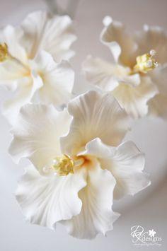 Gum paste flowers