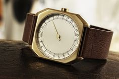 Slow Jo 24-Hour One #Hand #Watch – http://thegadgetflow.com/portfolio/slow-jo-24-hour-one-hand-watch/