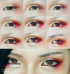 47 Trendy Ideas For Eye Anime Tutorial Cosplay Makeup 47 Trendy Ideas For Eye Anime Tutorial Cosplay