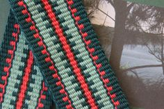 One-of-a-Kind Guitar Strap Woven by Hand in New Mexico, USA by…