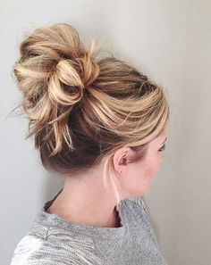15  Buns Hairstyles