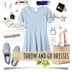 Easy Peasy: Throw-and-Go Dresses by forevagorgeous on Polyvore featuring Monki…