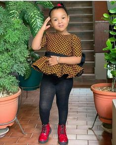 Items similar to Ankara printed clothes for girls / girls tops / girls kinte Blouses on Etsy – KinderMode Baby African Clothes, African Dresses For Kids, Latest African Fashion Dresses, Dresses Kids Girl, Kids Outfits Girls, Girl Outfits, Ankara Styles For Kids, Kids Dress Wear, Cute Kids Fashion