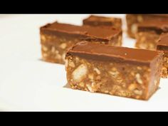 DOMACE Snickers stanglice - BEZ pecenja - YouTube