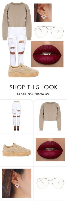 """Untitled #200"" by maaliya on Polyvore featuring My Mum Made It and Puma"