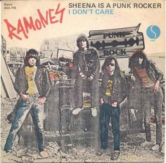 "The Ramones - Sheena is a punk rocker [1977, Sire Records SAA 746│Italy] - 7""/45 vinyl record"