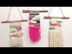 DIY Macrame Tutorial: Beginner Wall Hanging Diamond with Crafty Ginger Wall Hanging Crafts, Diy Wall Art, Tapestry Wall Hanging, 3d Wall, Best Engagement Gifts, Macrame Tutorial, Loom Weaving, Tapestry Weaving, Boho Diy
