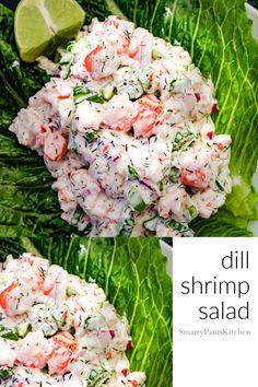Cold Shrimp Salad Recipes, Best Grilled Shrimp Recipe, Shrimp Recipes Easy, Shrimp Dishes, Easy Salad Recipes, Seafood Recipes, Shrimp Salads, Healthy Recipes, Shrimp And Crab Boil