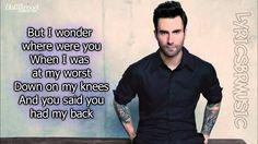 Maroon 5  Maps Lyrics Video