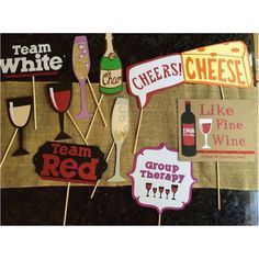 Items similar to Wine party themed birthday photo booth props on Etsy Wine Party Appetizers, Wine Parties, Wine And Cheese Party, Wine Tasting Party, Winery Bachelorette Party, Bachelorette Weekend, 60th Birthday Party, Wine Birthday, Mom Birthday