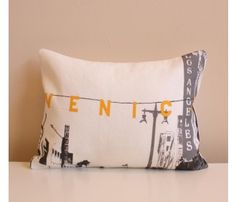 Venice Pillow @uncovet.com c/o heather lipner