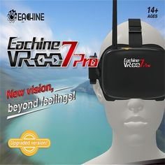 Eachine VR-007 Pro VR007 5.8G 40CH FPV Goggles 4.3 Inch Video Glasses Headset With 3.7V 1600mAh Battery for RC Drones Quadcopter