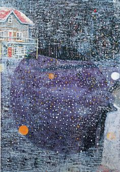 "star dot love (peter doig, ""charley's space"") #abstract #art"