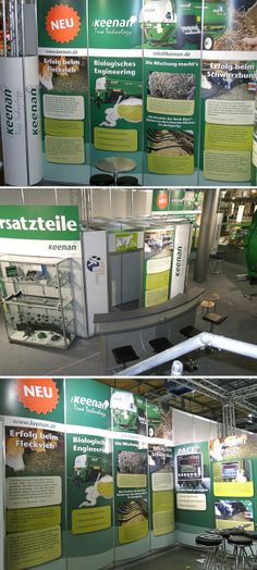 Large Display Graphics created for Keenan's for Agritechnica Show in Hanover, Germany. www.akgraphics.ie