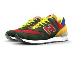 We crafted our first pair of 574s in 1988. Today you can design a NB Custom 574 that's a one-of-a-kind look to match your personal style. The 574 silhouette is the epitome of classic New Balance design – and you can make it completely yours with unique colors, materials and signature details. So start a new trend or go against the grain - you know what you want, and we know how to craft it right.