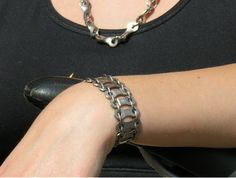 . . . . . How to Recycle: Bike Chain-This too