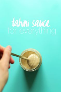 EASY Tahini Sauce for EVERYTHING - just 3 ingredients! Perfect on falafel…